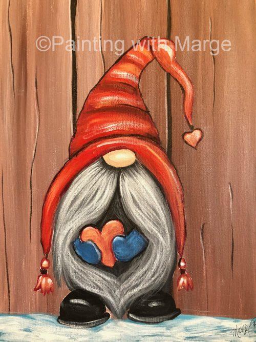 Be My Valentine Gnome