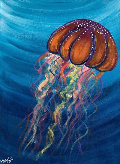 Jelly Fish - The Art Sherpa