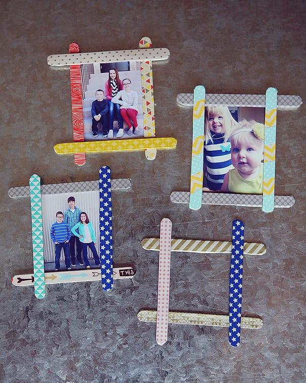 kids-craft-popsicle-stick-frames