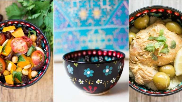 soupers d'inspiration marocaine