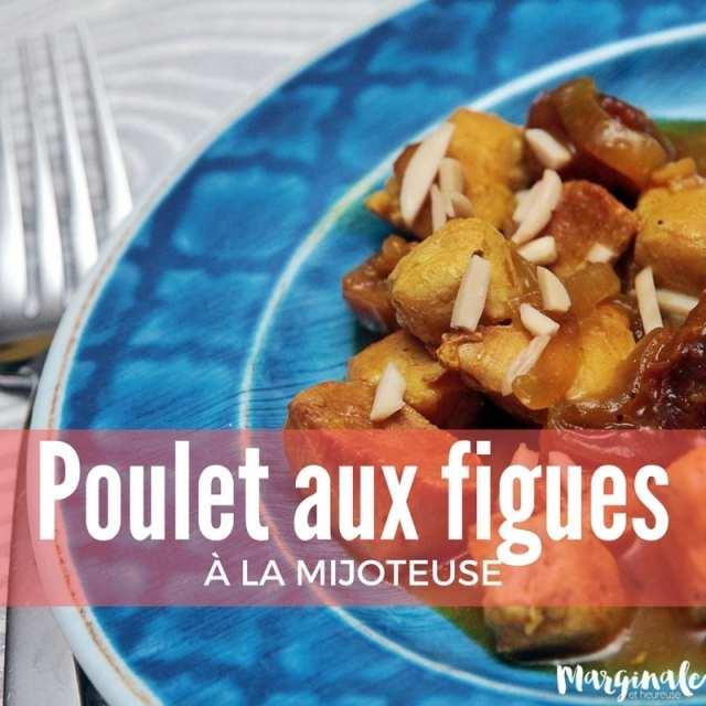 recettes à la mijoteuse poulet aux figues