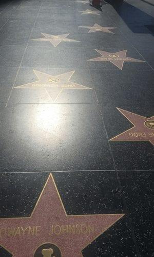 Hollywood blvd Los Angeles