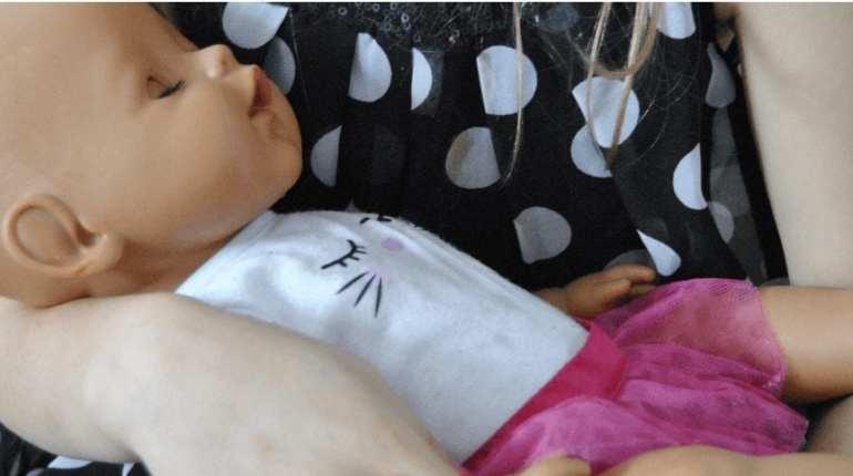 Poupée intéractive baby born