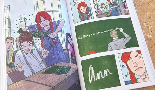 Anne... La maison aux pignons verts BD bande dessinée