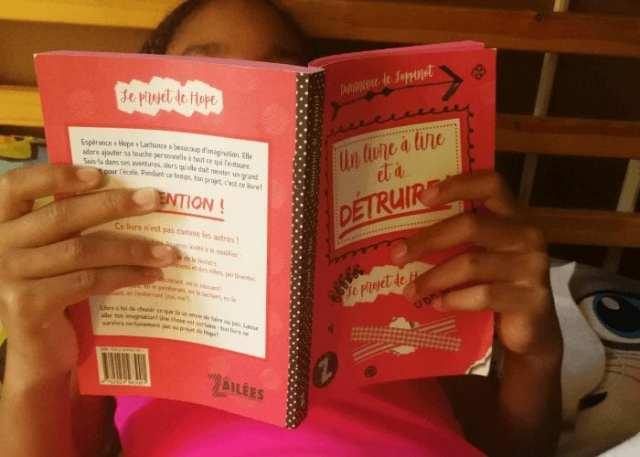 Livre jeunesse le Projet de hope