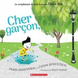 Cher Garçon, Couverture du livre