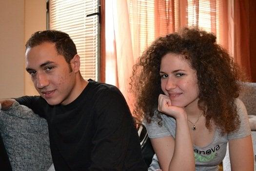 Линда и Рикардо. Снимка: Стефан Джамбазов.