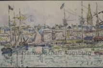 Пристанището на Сен ало, Пол Синяк. Снимка от прокуратурата в Аугсбург.