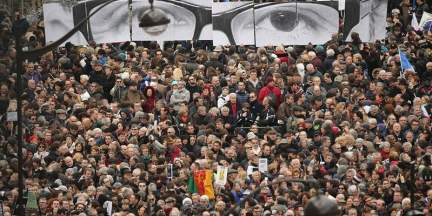 Demonstrators-gather-in-Place-de-la-Republique-prior-to-a-mass-unity-rally-to-be-held-in-Paris