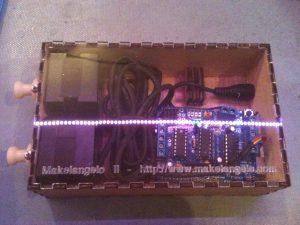 makelangelo 2 laser cut box v1 assembled