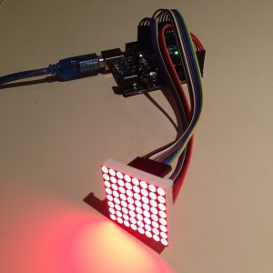 LEDs lit