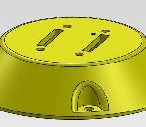 EMA Rotation Sensor Cover - Uncut