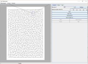 Makelangelo v7.2.9 maze generator