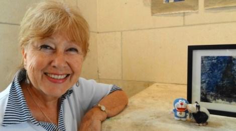 Portrait clin d'œil : Francine Minvielle, gravure d'art