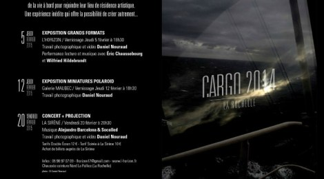 Affiche L'Horizon Cargo 2014
