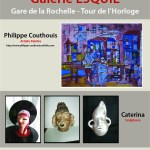 Exposition Philippe Couthouis et Caterina