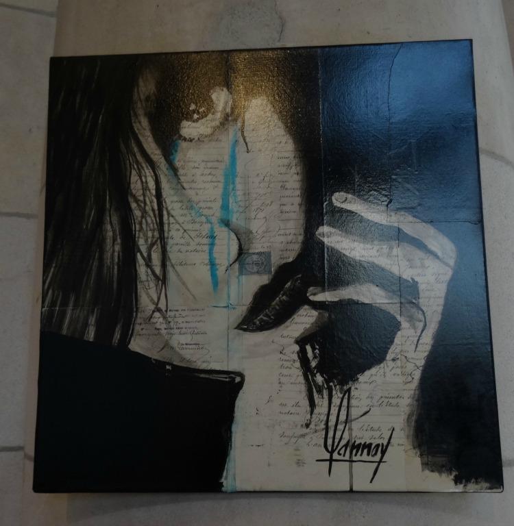 Des artistes en gare de La Rochelle, Exposition Jean François Moreau et Didier Lannoy Galerie Esquié La Rochelle du 3 au 9 décembre 2016