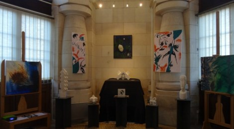 Des artistes en gare de La Rochelle, Exposition de Gepsy & Kaagari