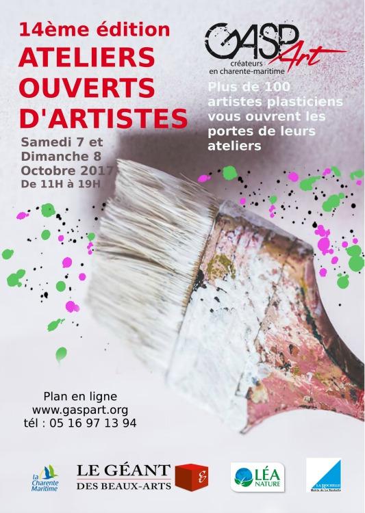 ateliers ouverts 2017 La Rochelle