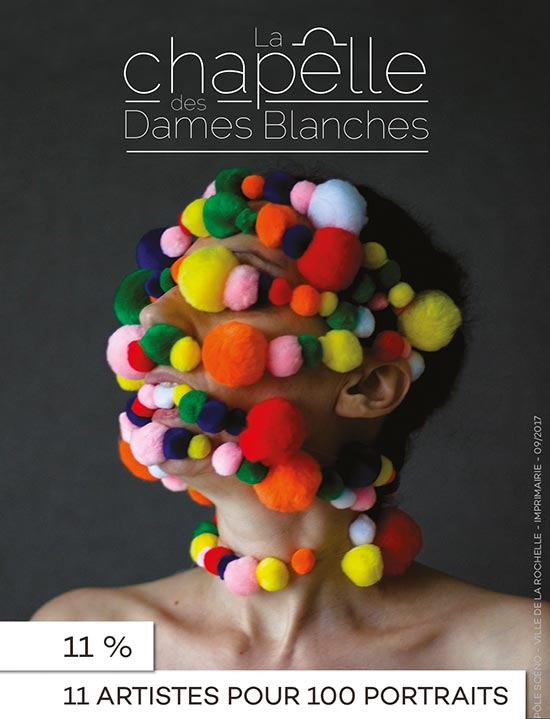 11 artistes pour 100 portraits La Rochelle