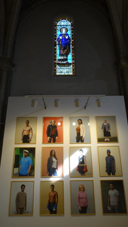 Antoine Bruy 11 artistes pour 100 portraits La Rochelle