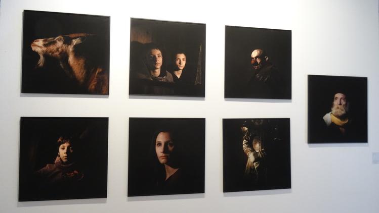 Marie Moroni 11 artistes pour 100 portraits La Rochelle