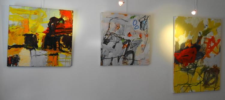 Anne Zablot, exposition Atelier Bletterie La Rochelle