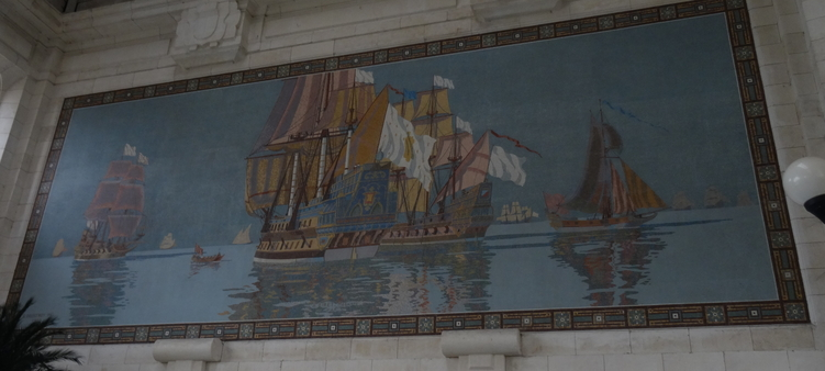 Mosaïque de la Gare de La Rochelle