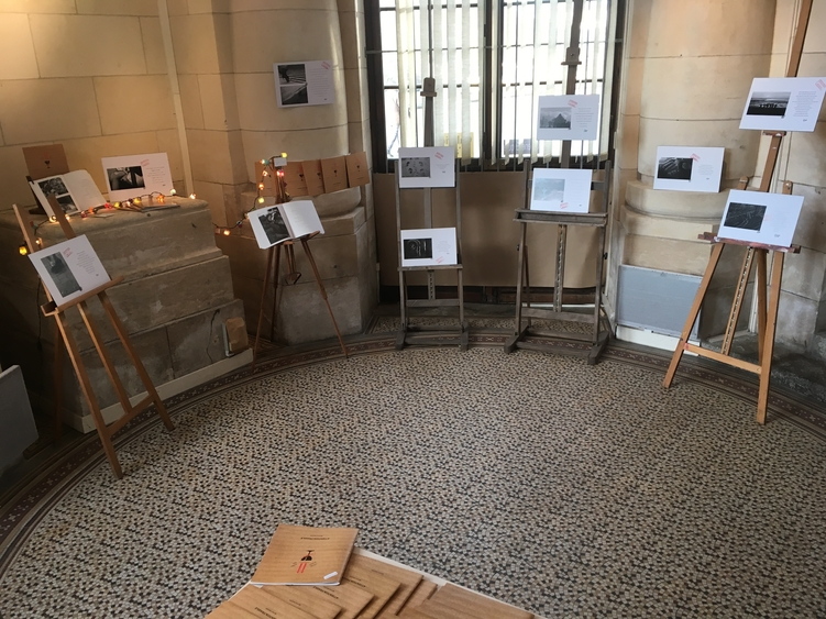 Expos dans la Gare de La Rochelle Virginie Pion et Evelyne Allègre