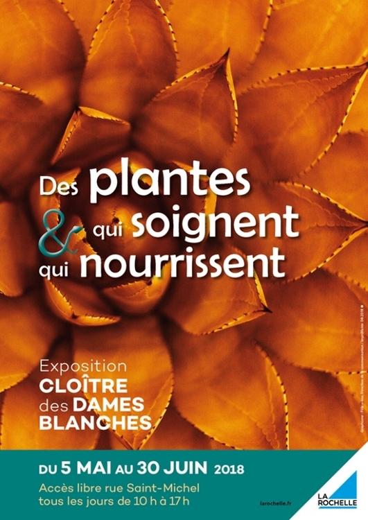Exposition Les plantes qui soignent et qui nourrissent au Cloître des Dames Banches