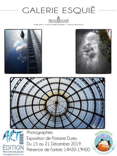 Art contemporain en gare de La Rochelle Exposition de Floriane Durey Galerie Esquié La Rochelle du 15 au 21 décembre 2018