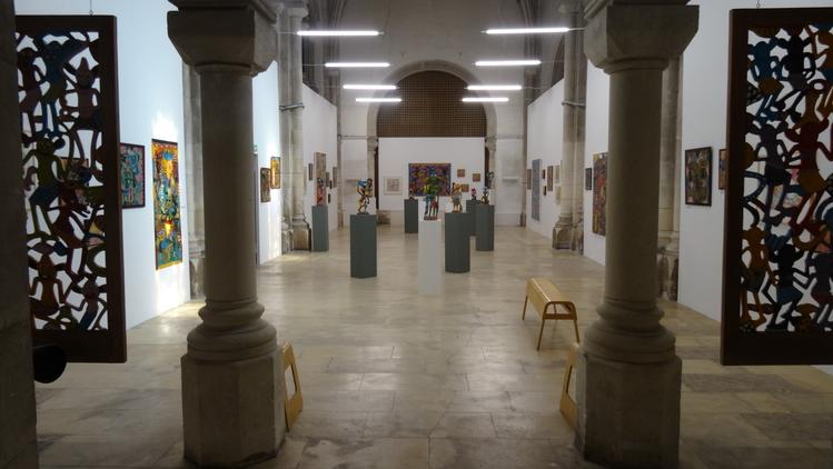 George Lilanga - Chapelle des Dames blanches du 6-7 au 1-9-2019
