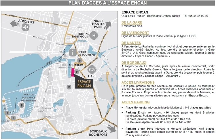 Arts Atlantic 2019 - Plan d'accès