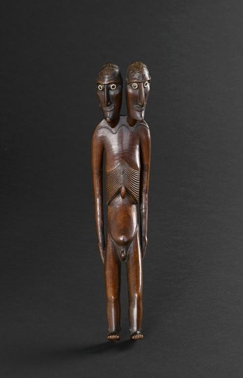 Statuette Moaï Kavakava de l'île de Pâques