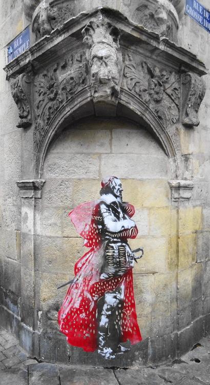 Richelieu - Noarnito Des histoires sur les murs de La Rochelle