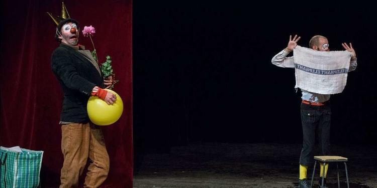 Les frères François et Julien Delime dans leur spectacle « Racine et Platon ». PHOTO DIDIER GOUDAL