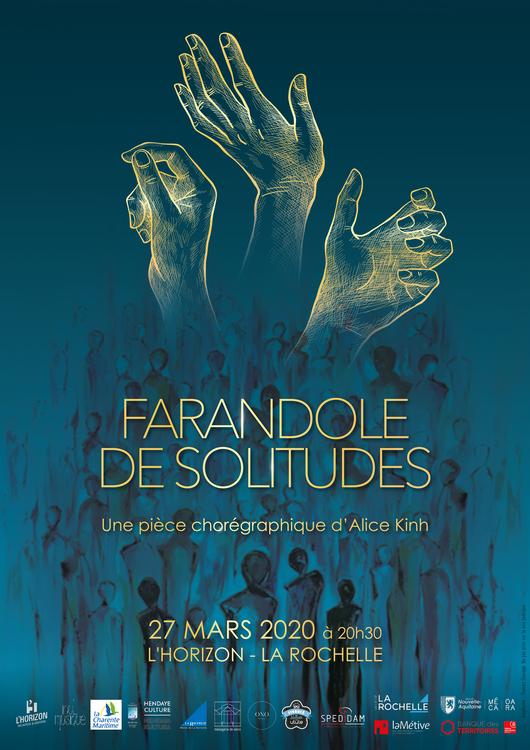 Alice Kinh - Farandole des solitudes -affiche