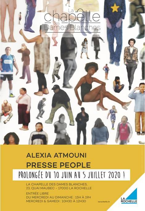 Presse People de Alexia Atmouni jusqu'au 5 juillet 2020