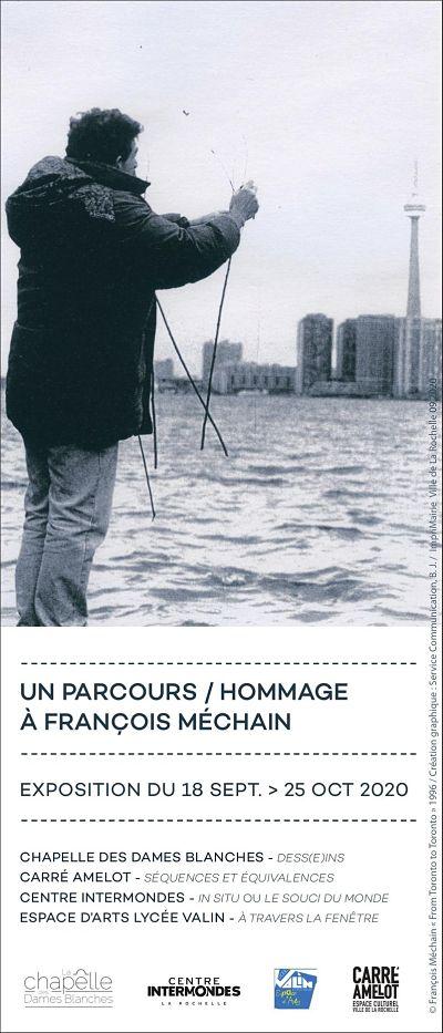 affiche parcours hommage françois méchain