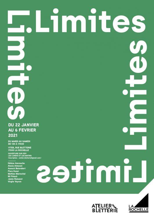 Limites Atelier Bletterie 22 janvier 6 février 2021