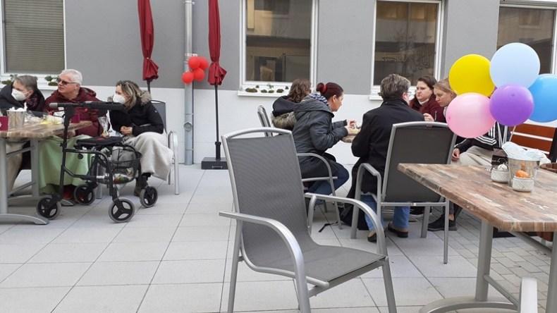 Hoffest zu Ostern im ASPIDA Pflegecampus Plauen 2021