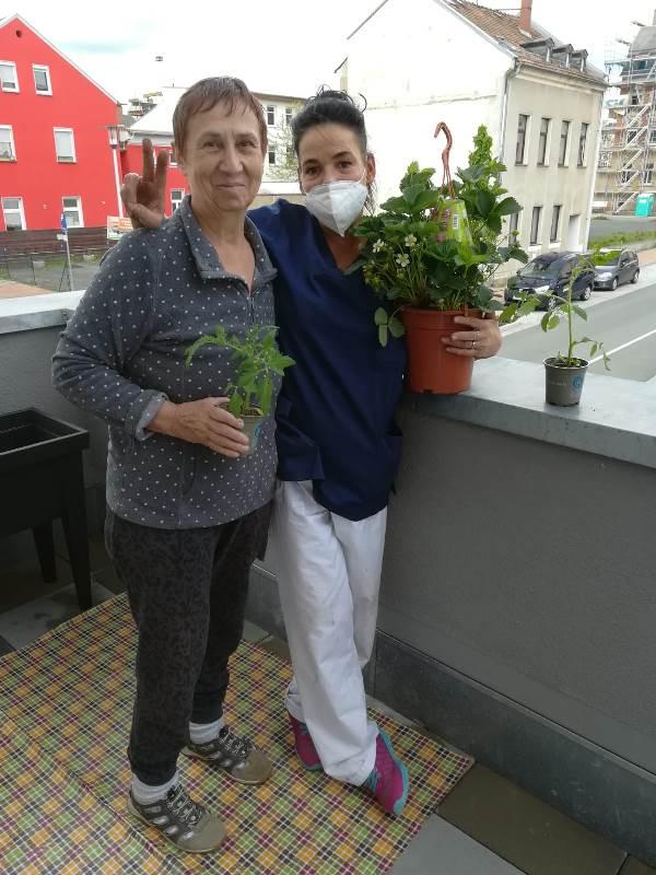 Die Gärtner sind unter uns im ASPIDA Pflegecampus Plauen