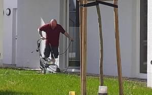 Haustechniker mäh nicht ins Kabel 2021
