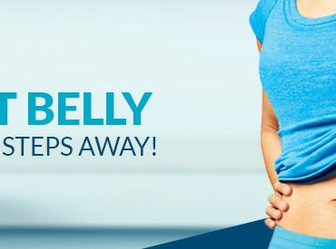 Flat belly only 5 steps away