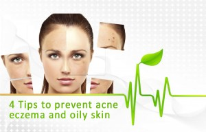 Ways to Avoid Acne, Eczema and Oily Skin