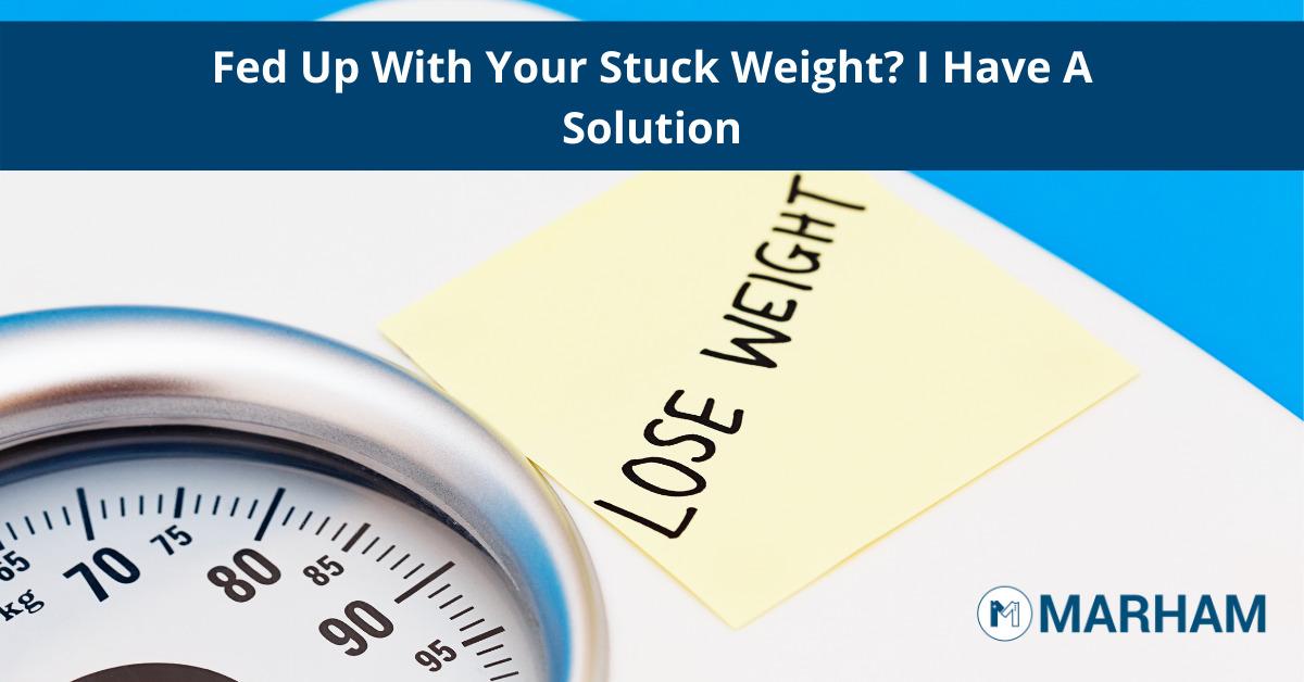 stuck weight