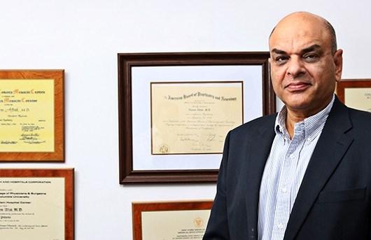 Psychiatrist Dr Naeem Aftab