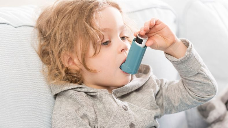 Asthma for breathing issue