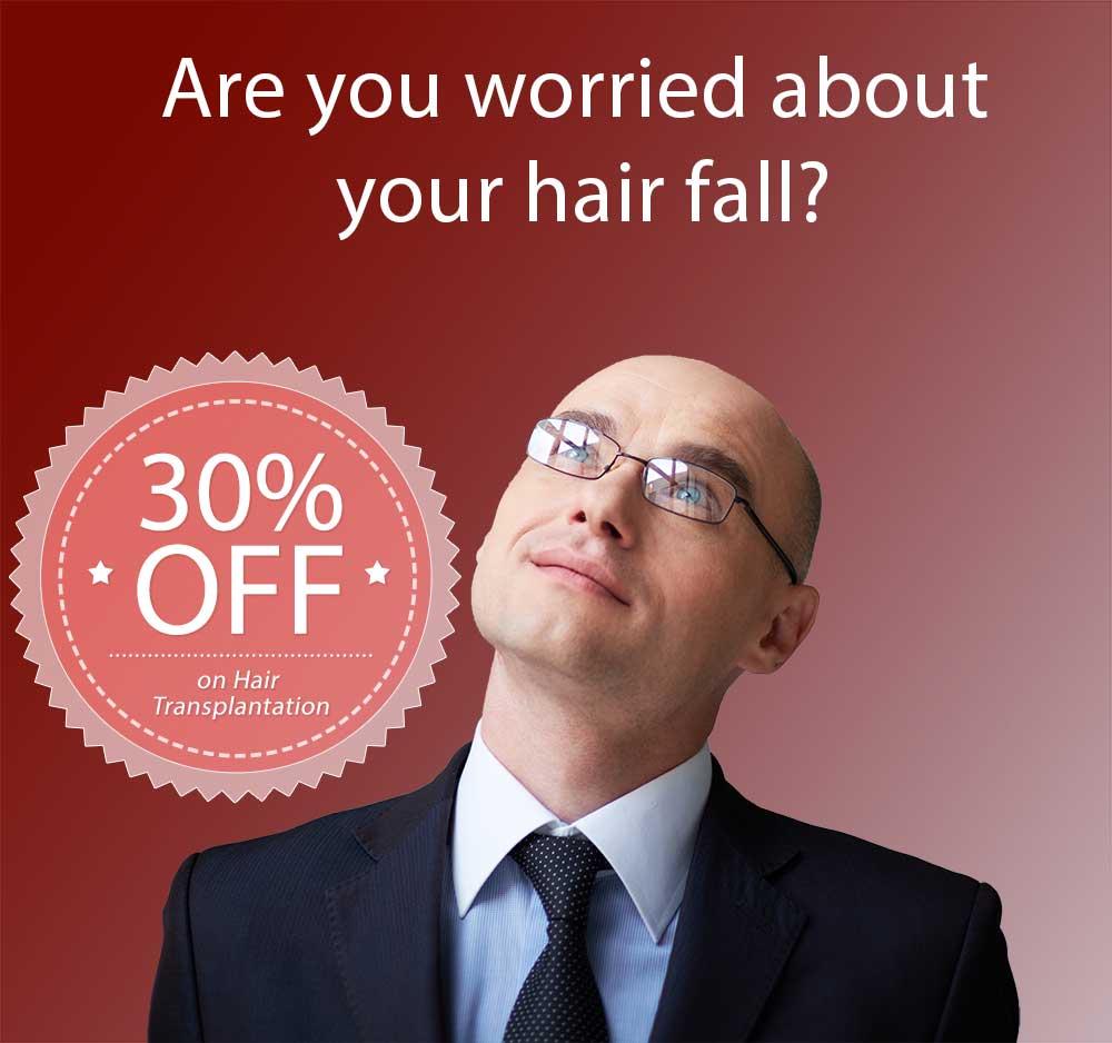 30% off on Hair Transplantation