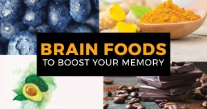 6 Brain Foods that Protect your Memory